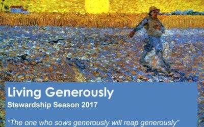 """Living Generously – How We Give"" A Sermon by Alan Sherouse"