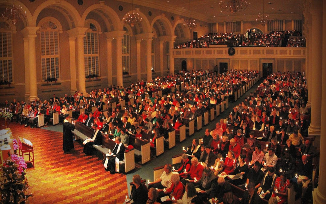 Christmas Eve at First Baptist