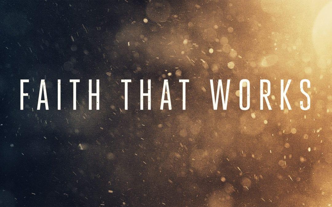 """Faith that Works| The Good Life"" A Sermon by Alan Sherouse"