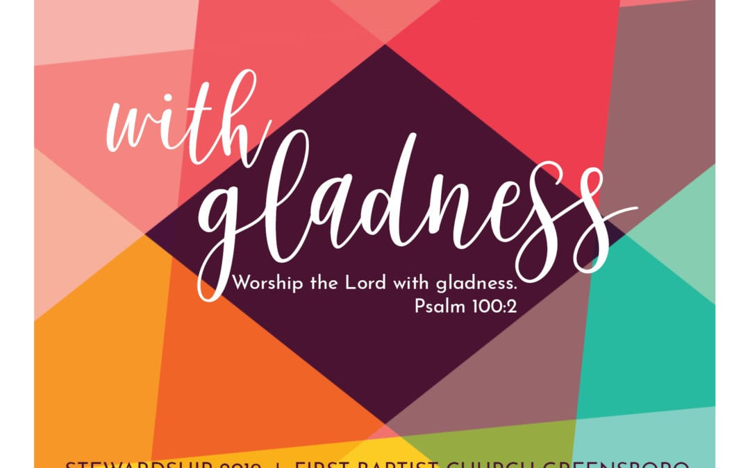 """Give with Gladness"" A Sermon by Alan Sherouse"