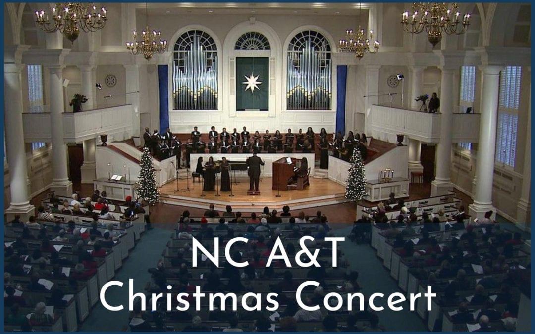 NC A&T Christmas Concert