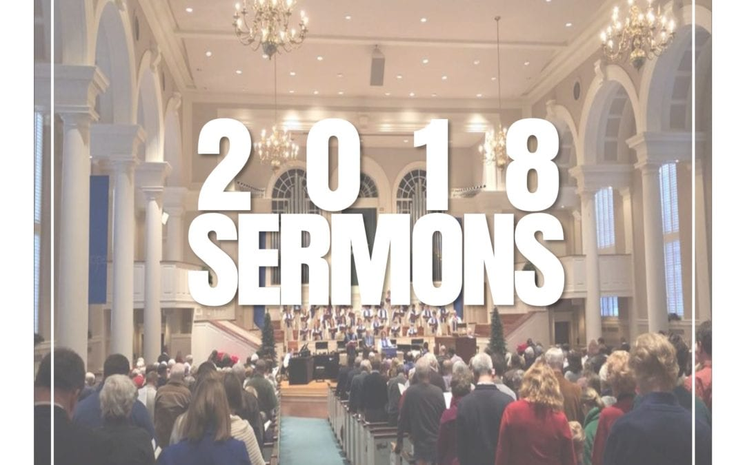 2018 Sermon Archive