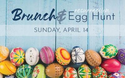 Brunch and Egg Hunt