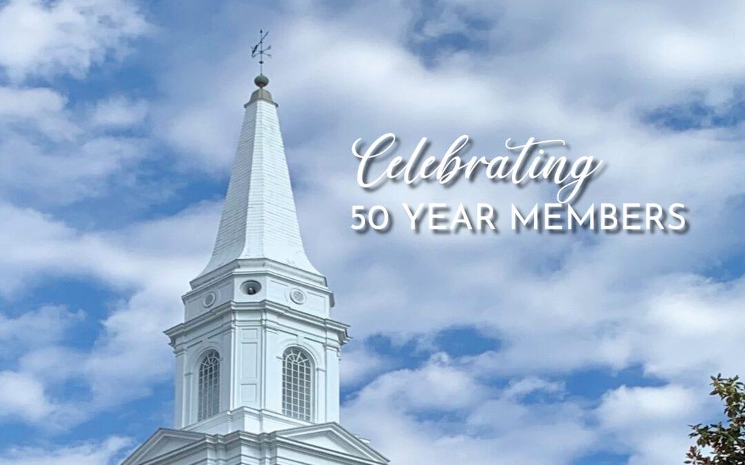 Celebrating 50 year members