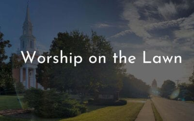Worship on the Lawn