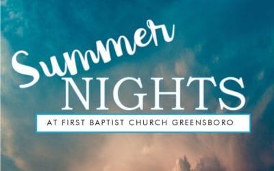 Summer Wednesday Nights