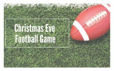 Christmas Eve Football