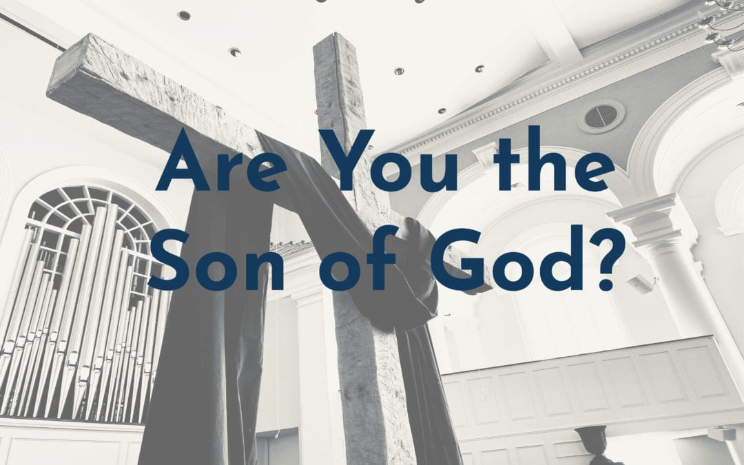 """""""Are You the Son of God?"""" A Sermon by Alan Sherouse"""