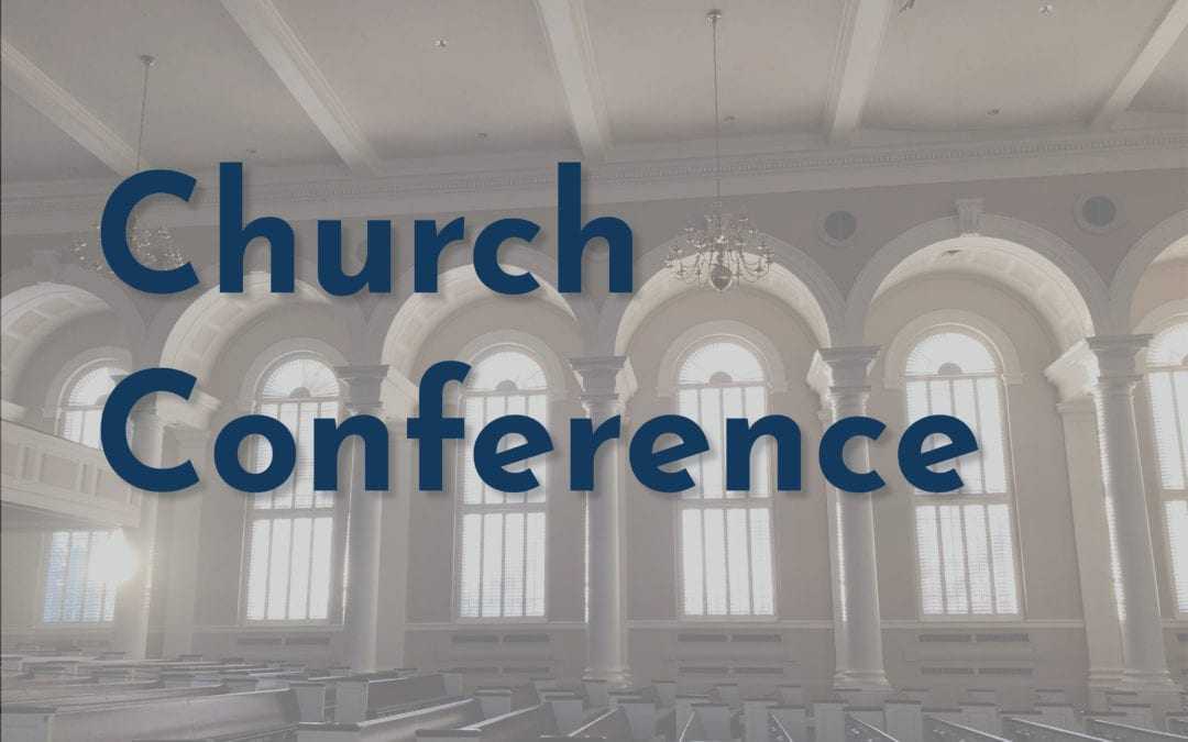 April Church Conference