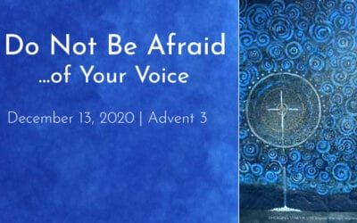 """Do Not Be Afraid… of Your Voice"" A Sermon by Alan Sherouse"