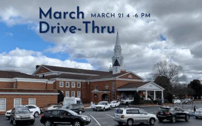 March Drive-Thru