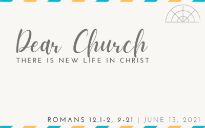 """""""Dear Church: There Is New Life in Christ"""" A Sermon by Courtney Willis"""