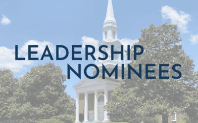 Leadership Nominees