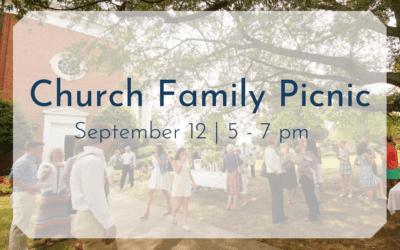 Church Family Picnic