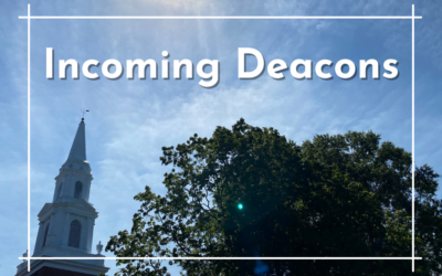Incoming Deacons 2021